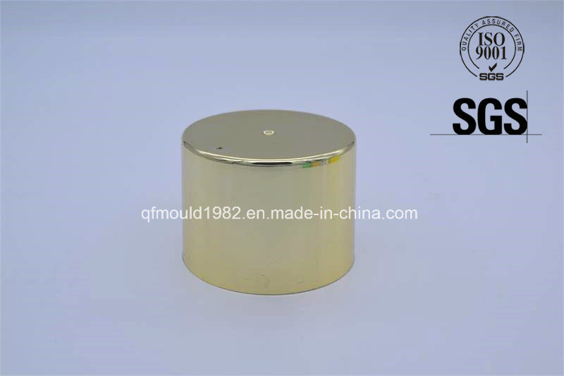 Gold Plating Plastic Lid for Spraying Cans