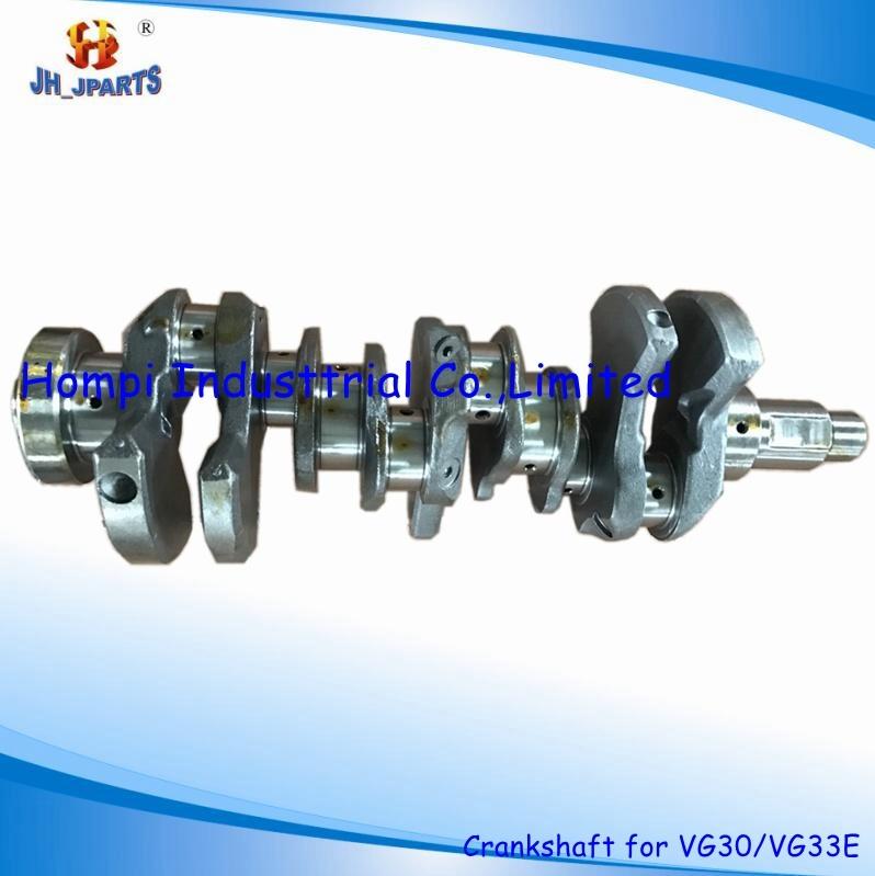 [Hot Item] Auto Parts Forged Steel Crankshaft for Nissan Vg30 Vg33e
