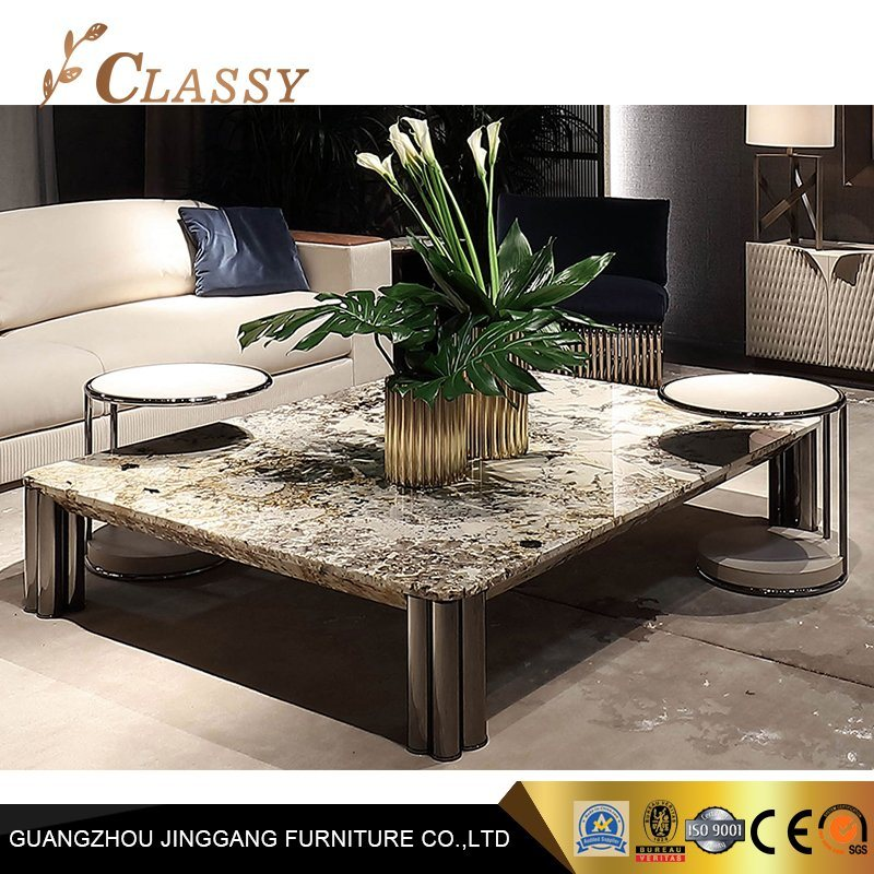 China Living Room Coffee Table Modern Marble Cetern Table Photos Pictures Made In China Com
