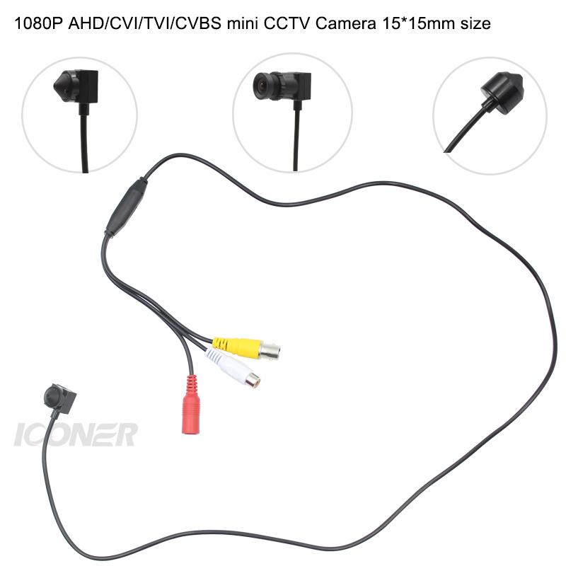 Mini HD AHD TVI CVI CVBS 1080P 2.0MP CCTV Kamera CMOS Security Cam CCTV-Wired