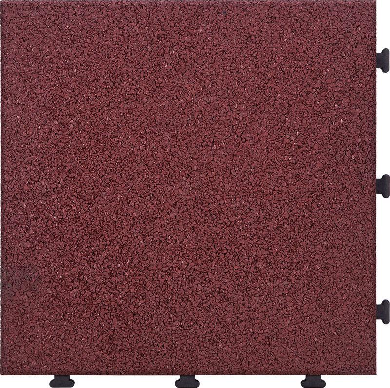 China Rohs Standard Kids Safety Rubber Tile Interlocking Non Slip Flooring Exterior Removable Floor Tiles