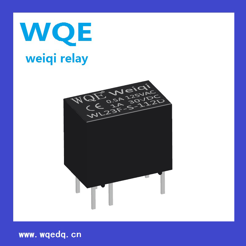 Miniature Size Communication Reed Relay (Wl23F) Suit for Automatic Devices, Communications Equipment