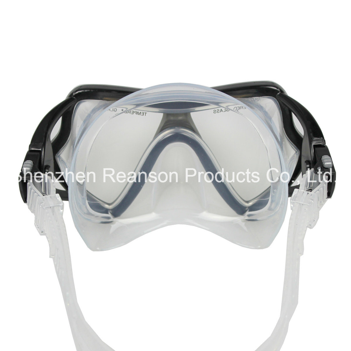 Reanson Professional Tempered Glass Snorkel Diving Mask pictures & photos