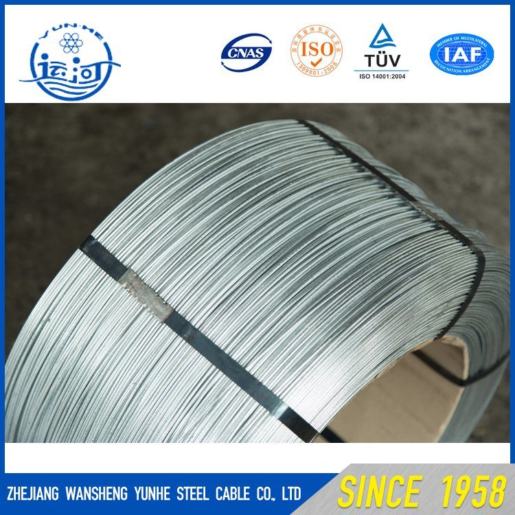China 0.7mm Galvanized High Tensile Strength High Carbon Steel Wire ...