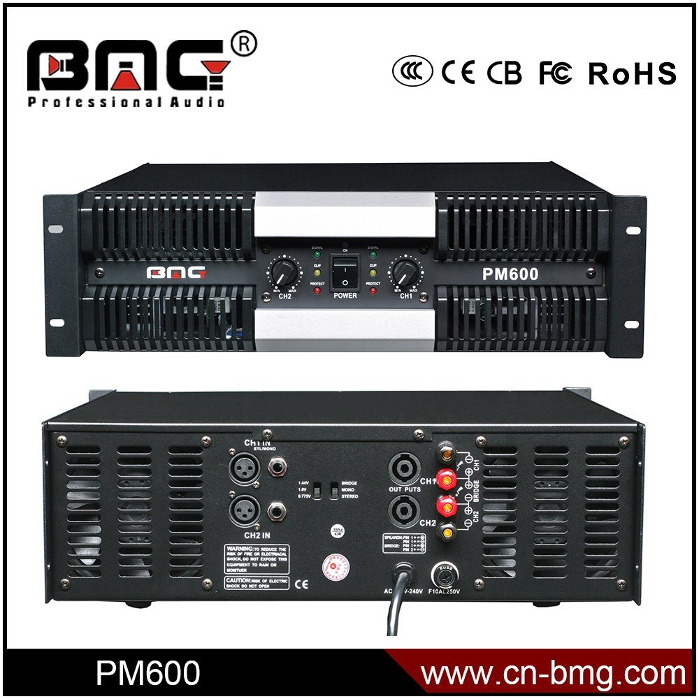 China Bmg Pm Series 1200w 2 Channels Professional Amplifier Audio 300 Watt Subwoofer Power And For 1000