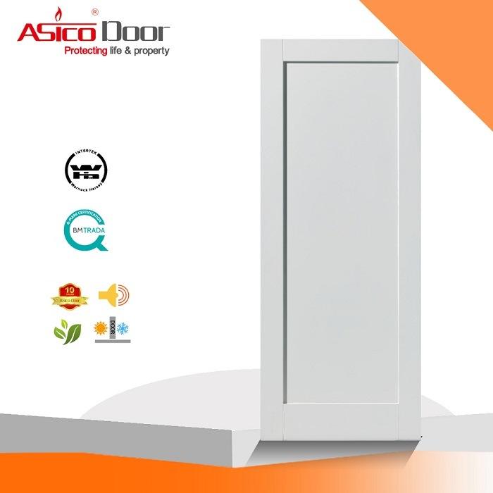 China American Market One Panel Interior Shaker Door Mdf Primed