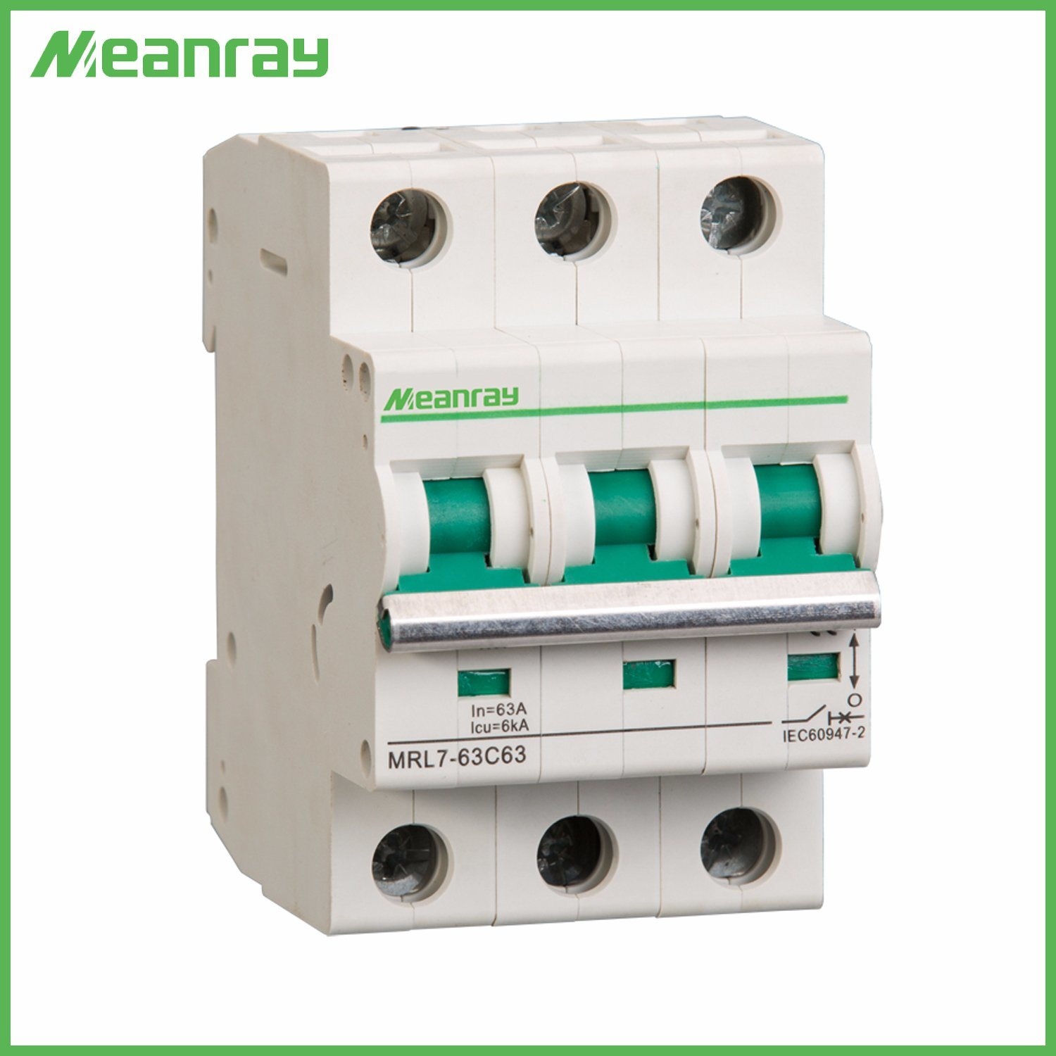 China Iec Ce Approved 3p Electrical Dc 63 Amp Mcb 3 Phase Air Series Circuit Miniature Or Mini Breaker With Good Prices