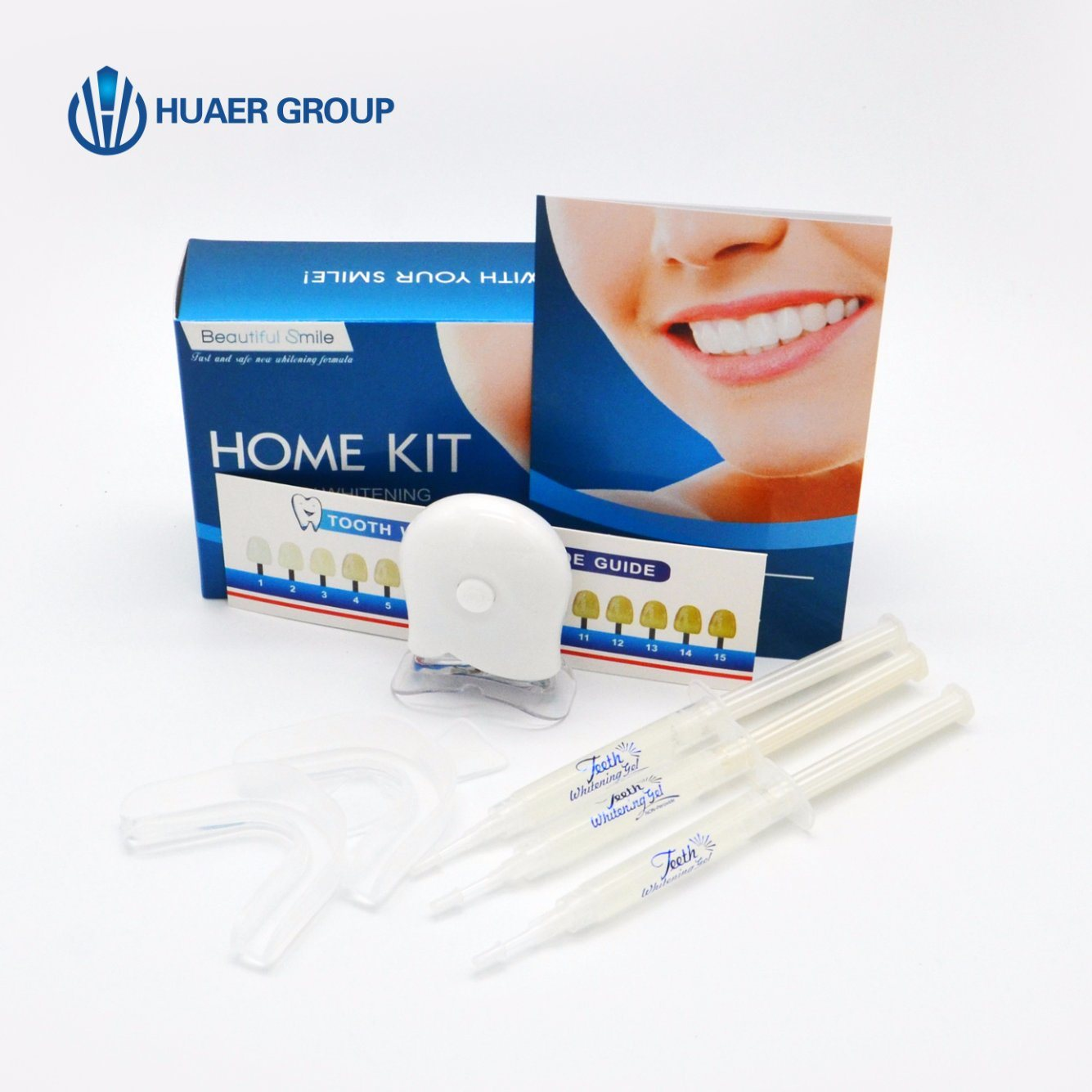 China Ce Aproved Non Peroxide Teeth Whitening Kit With Led Light