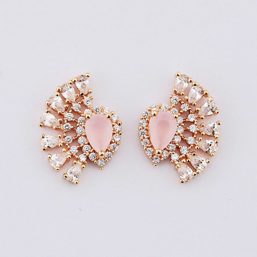 China New 2017 Latest Gold Earring Designs for Women Photos ...