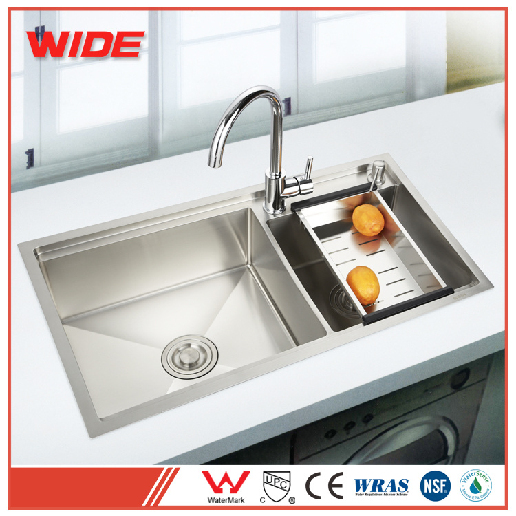 china best quality double bowl hand made 304 sus kitchen wash sink rh gdwide en made in china com best quality kitchen sinks uk good quality kitchen sinks