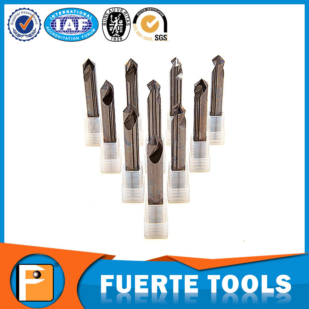Solid Carbide Spot Drill Bit for Aluminum