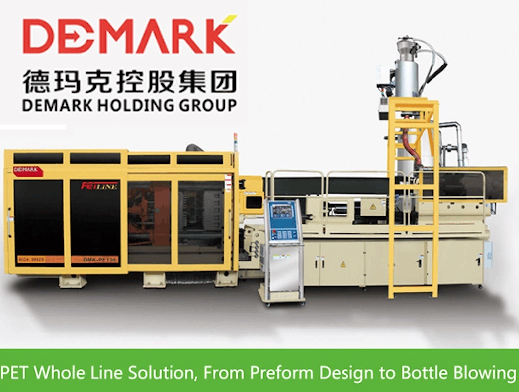 Demark High Speed Pet Preform Injection System 72 Cavities Cooling Robot - Preform up to 30g (72Cavities Neck Up to 38mm)