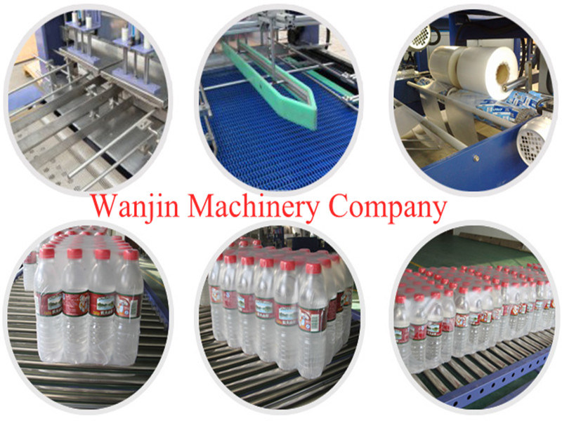 Bottle Beverage PE Film Automatic Packing Machine