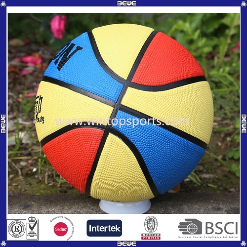 on Sale Promotional OEM Colorful Basketballs for Entertainment pictures & photos