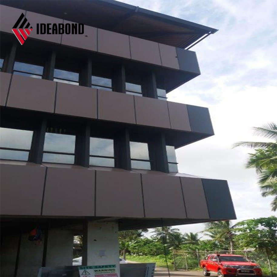 China Ideabond Modern Building Design Aluminum Exterior Wall Finishing Material Af 411 Photos