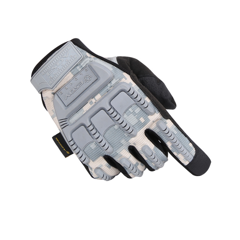 Esdy Full-Finger Military Tactical Outdoor Sports Acu Hunting Cycling Gloves