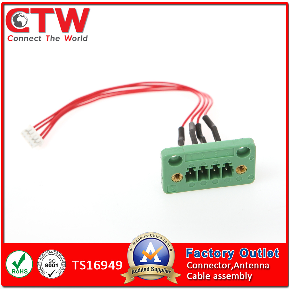 China M16 Aisg Ip67 Wire Harness Wiring Electrical Connection