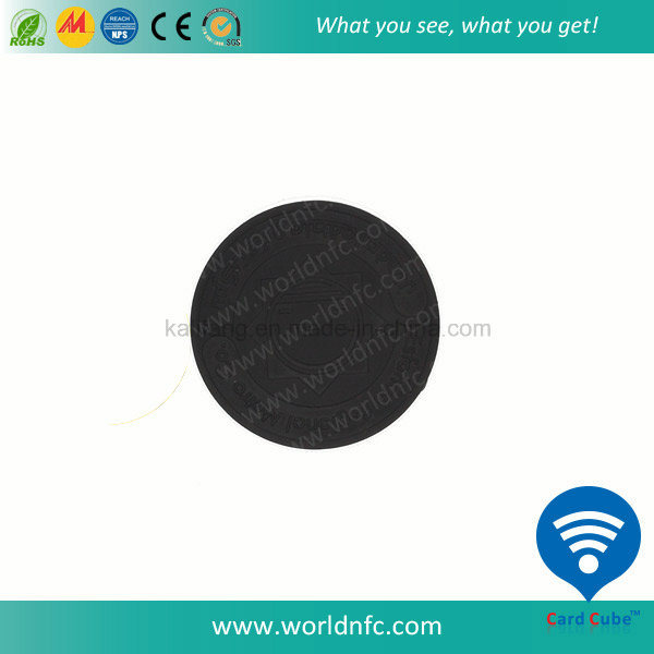 Custom ISO 14443A FM08 1k Washable Hf RFID PPS Laundry Tag pictures & photos
