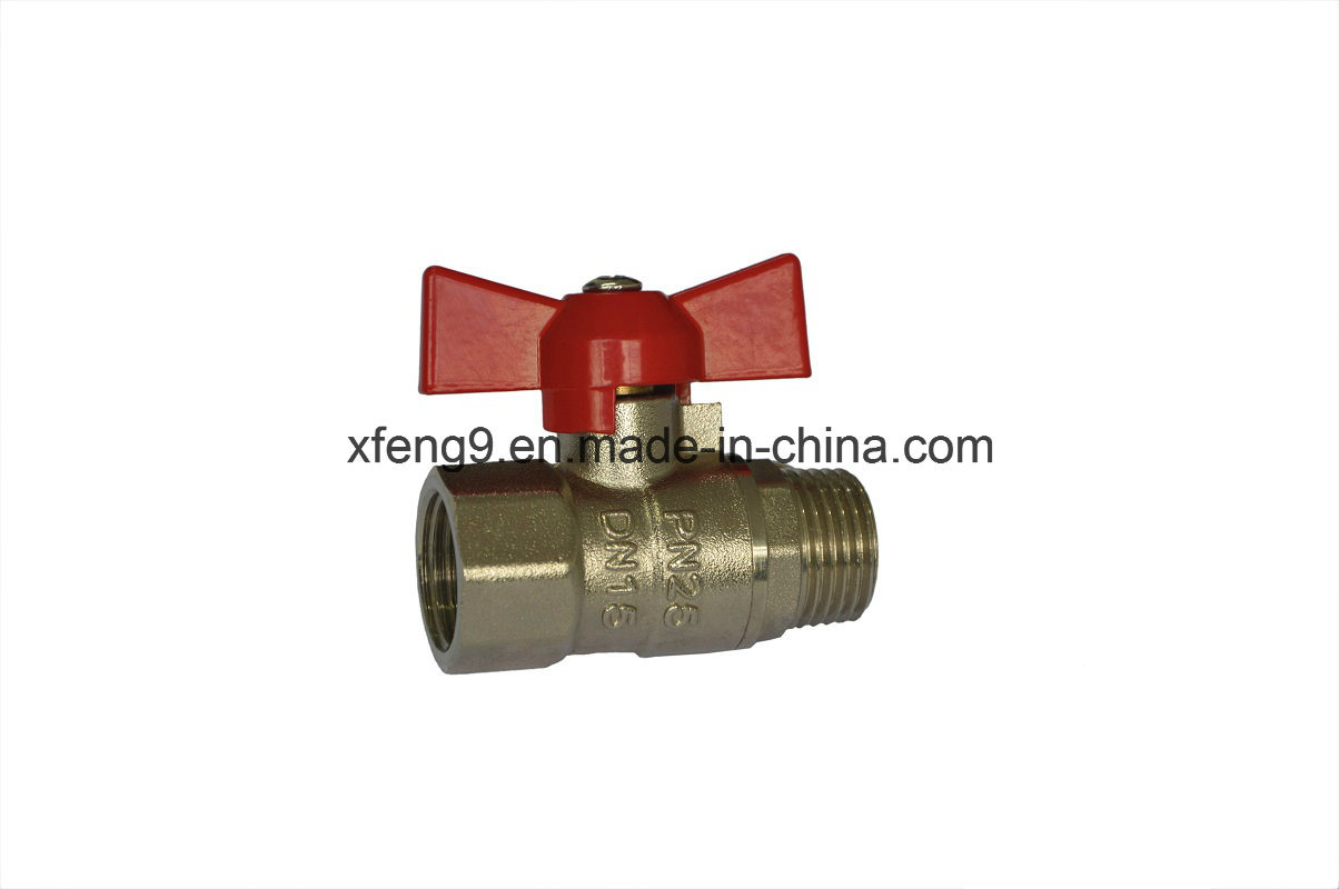 High Quality Brass Ball Valve with Aluminum Handle pictures & photos