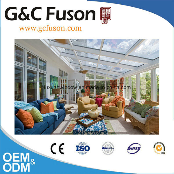 China Tempered Glass and Aluminium Frame Sunrooms with Australia