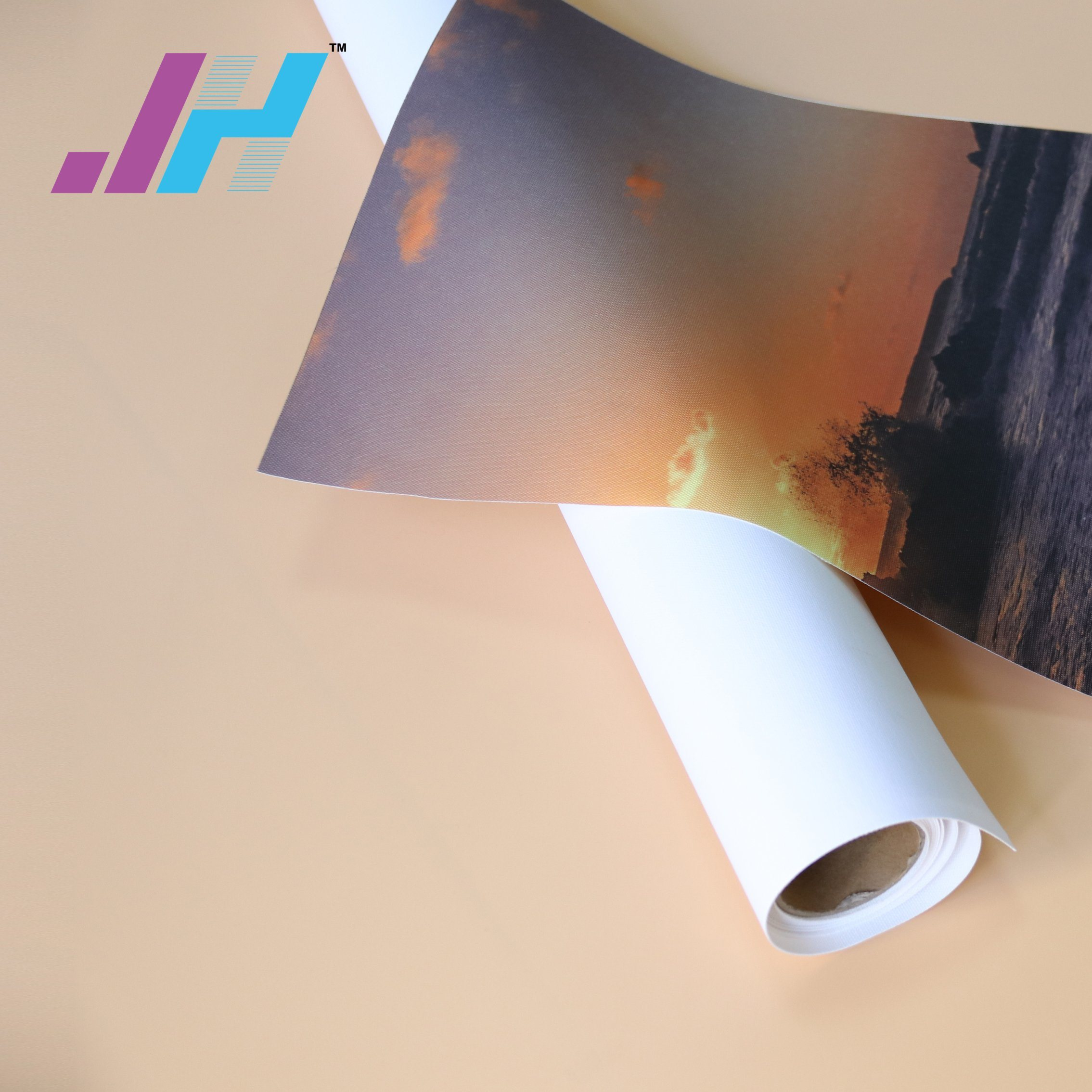 graphic regarding Printable Canvas Paper called [Very hot Products] Inkjet Printing Shiny Polyester Blank Stretched Canvas