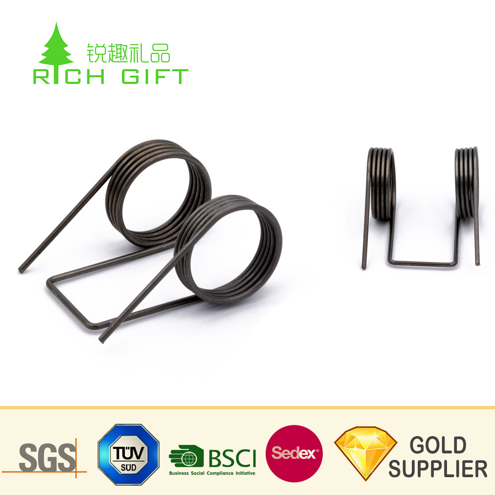 China Supplier Wholesale Customized Double Torsion Spiral Coil Wire Toy Lock Precision Force Stainless Steel Spring Compression