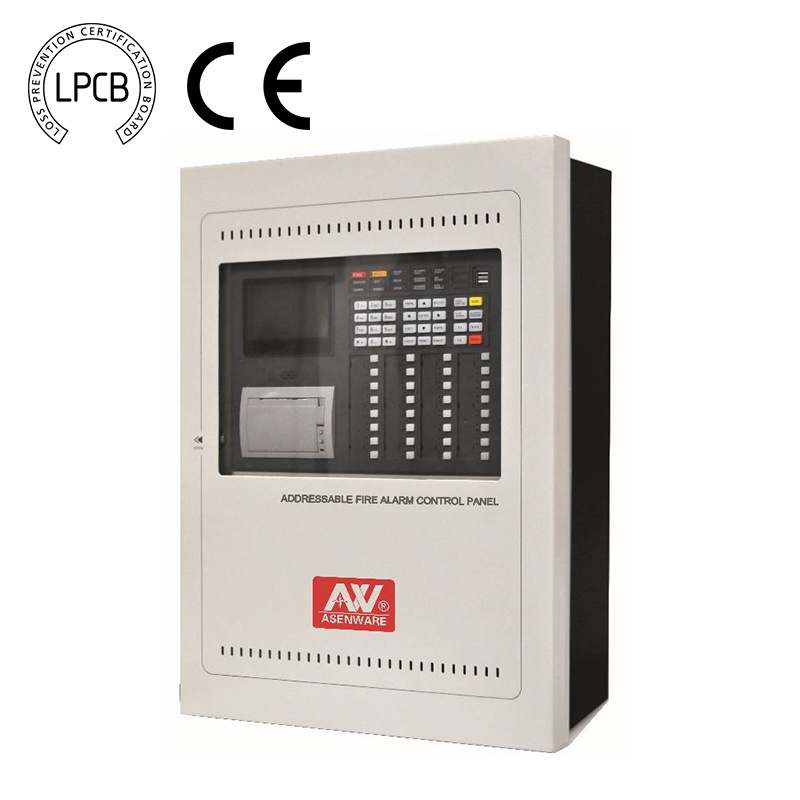 China TCP IP Working Lpcb Fire Alarm Addressable Control Panel with ...