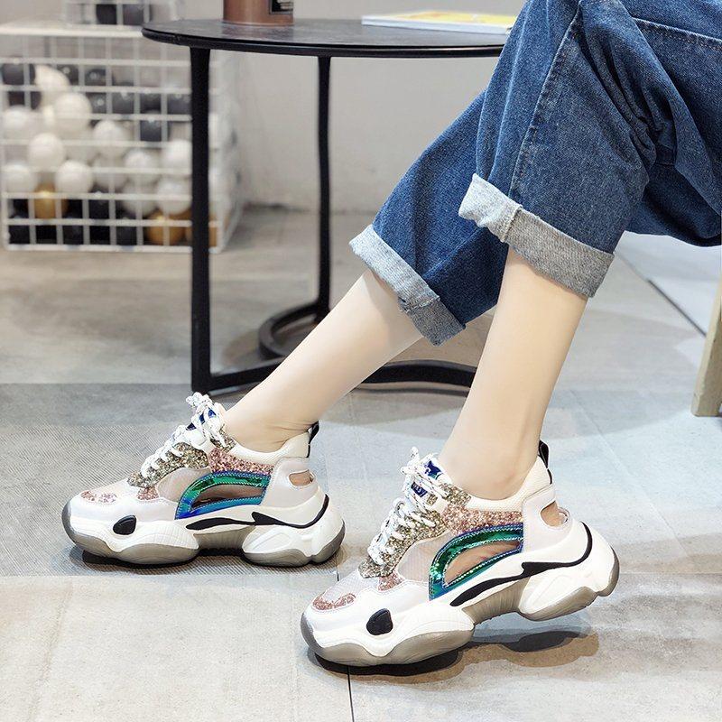 China Womens High Heel Sneakers