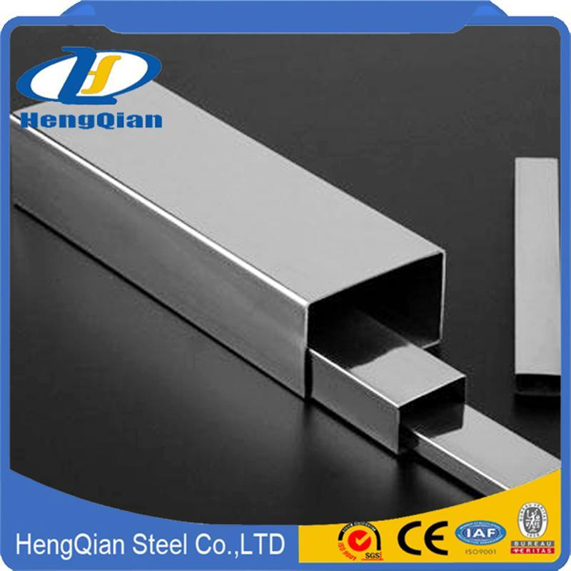 Round/Square SUS201 304 316 310S S31803 Stainless Steel Pipe for Decoration pictures & photos