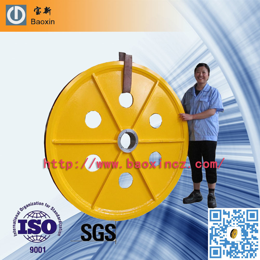 China ASME 200 Ton Steel Wire Rope Sheave Pulley Photos & Pictures ...