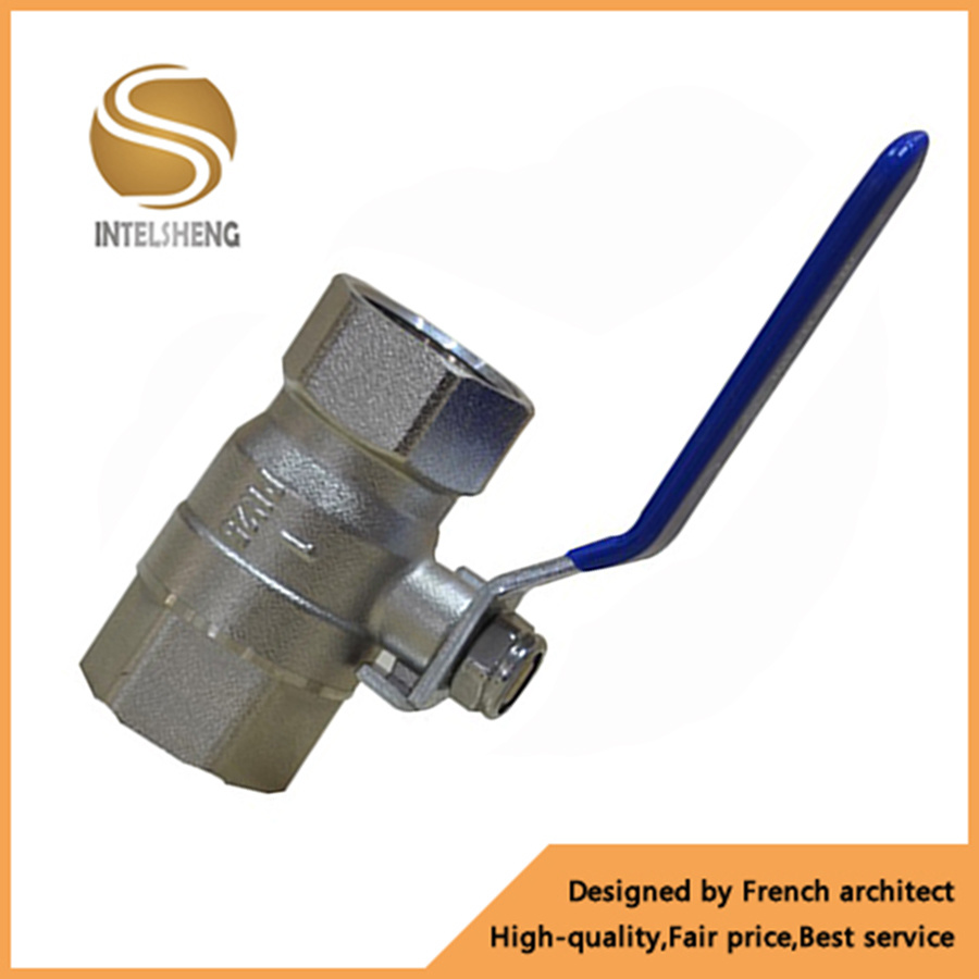 China Brass Water Ball Valve with Lever Handle - China Ball Valve ...