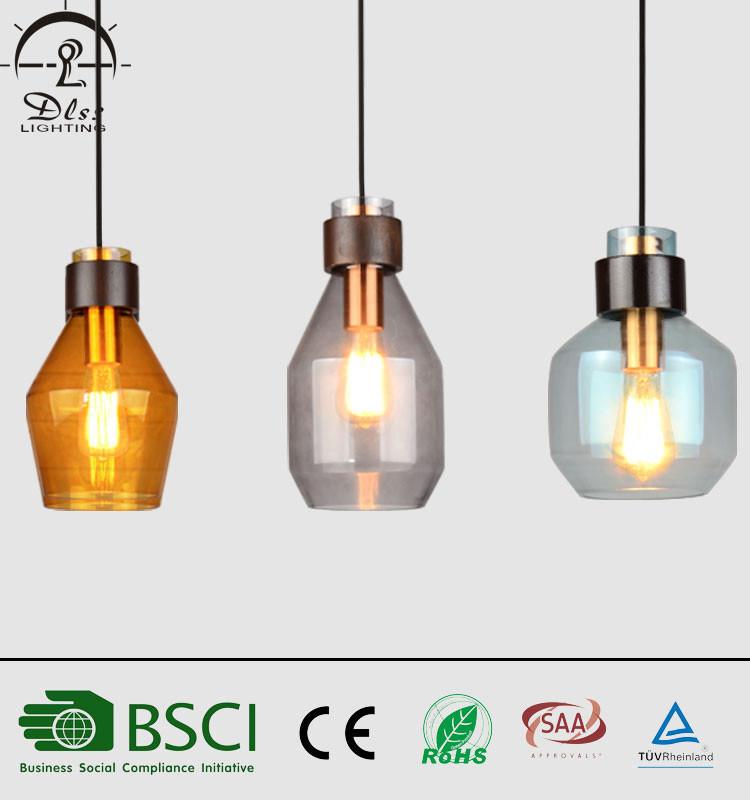 Hot Item Decoration Indoor Lighting Modern Color Gl Pendant Lamps