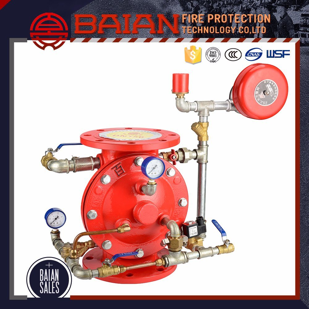 Price for Alarm Valve Automatic Fire Sprinkler System Wet Alarm Check Valve