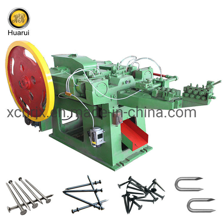[Hot Item] Low Noise High Speed Durable Nail Production Line Automatic Wire  Nail Making Machine Price