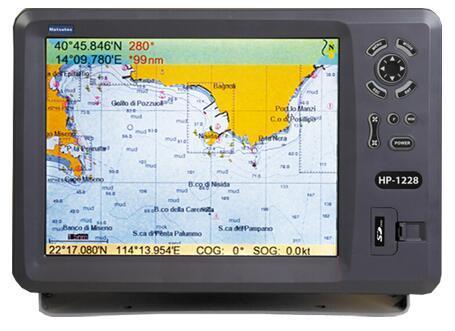 China 12 Inches Color Lcd Marine Gps Chart Plotter China Marine