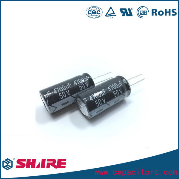Screw-Type Aluminum Electrolytic Capacitor with Mounting Frame
