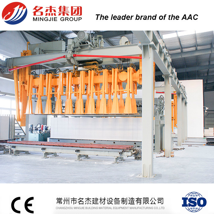 Automatic Brick Making Plant for Lightweight Concrete Block Manufacturing Process pictures & photos