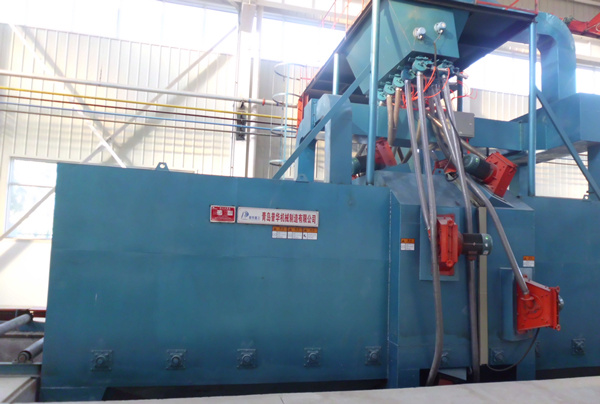 Q69 Serise Pass Through Type Shot Blasting Machine Sand Blasting Machine pictures & photos