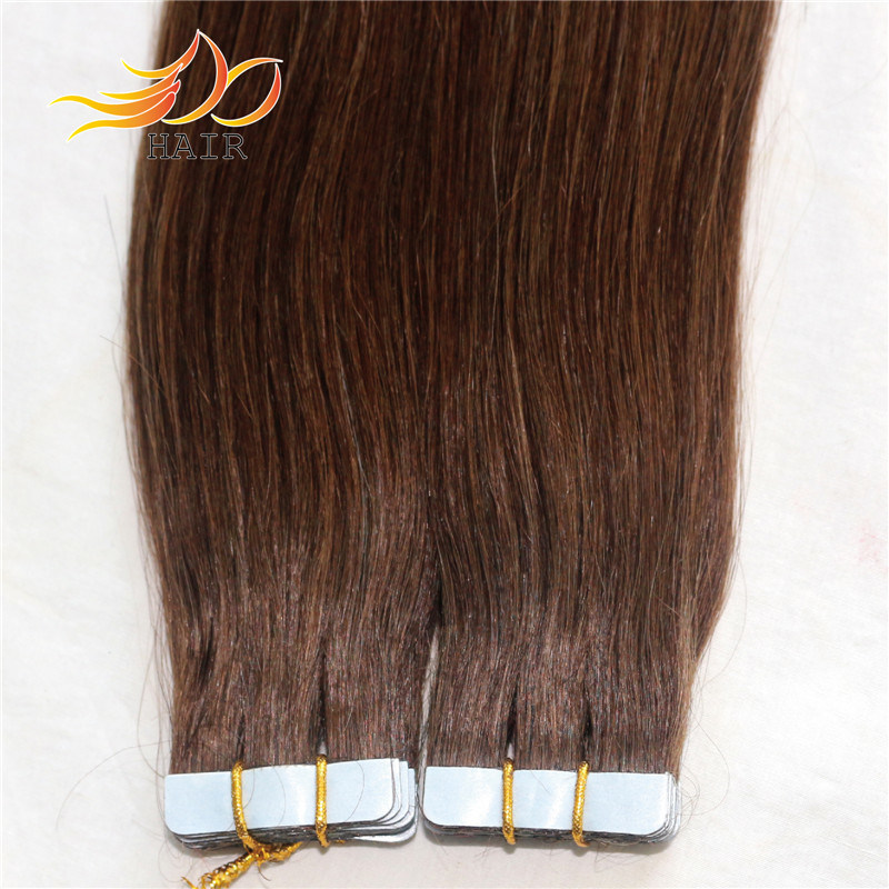100% Remy Hair Tape Prebonded Human Hair Extension