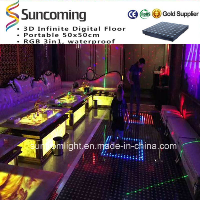 2015 Innovation New Model LED Interactive Dance Floor