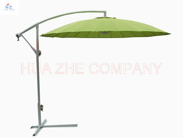 Hz-Um61 300-24-48mm Fiber Glass Hanging Umbrella 10ft Fiber Glass Parasol with Crank-Garden Parasol Banana Umbrella Outdoor Umbrella Garden Umbrella pictures & photos