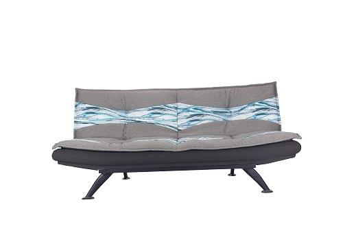 China Modern Fabric Folded Sofa Bed QLMW05B China Modern Fabric