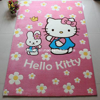 China Hello Kitty Carpet Rug for Kids Room (YR-HK02) - China Rug, Kid Rug