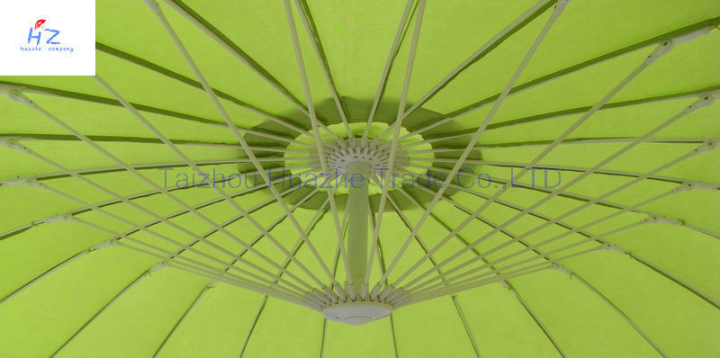 10ft Fiber Glass Parasol with Crank-Garden Parasol Banana Umbrella Outdoor Umbrella Garden Umbrella pictures & photos