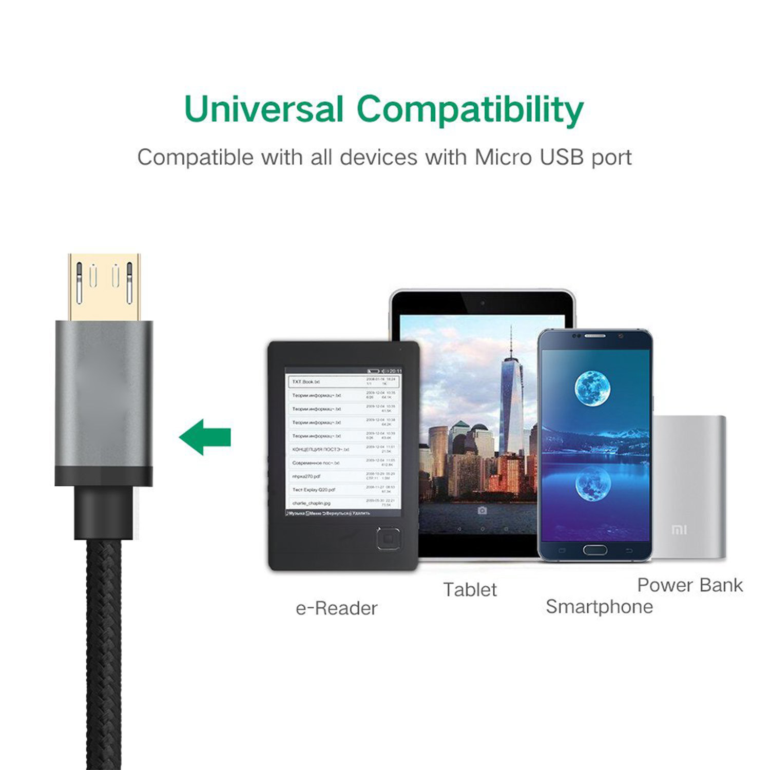 China New Arrival 5 Wire Micro USB Cable for Galaxy S7 and More ...