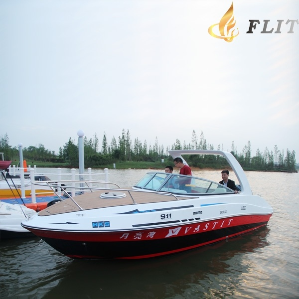Australia Hot Sale 7.3m Long FRP Speedboat with a Bedroom