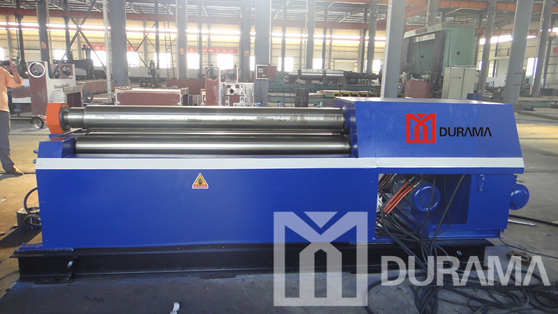Heavy Duty Hydraulic CNC Four Roller Plate Rolling Machine pictures & photos