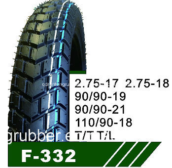 High Proformance Motorcycle Tire 3.00-17 3.00-18 110/90-16 130/60-13 120/80-17 100/90-17 pictures & photos