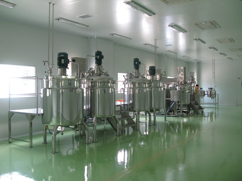 Stainless Steel Vacuum High Speed High Shear Emulsifier Mixing Tank pictures & photos