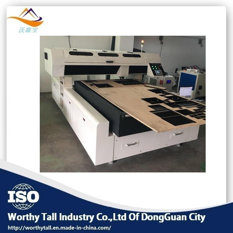 China Die Board Laser Cutting Machine / Wood Laser Cutter